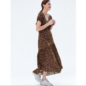 Zara Woman Animal print dress